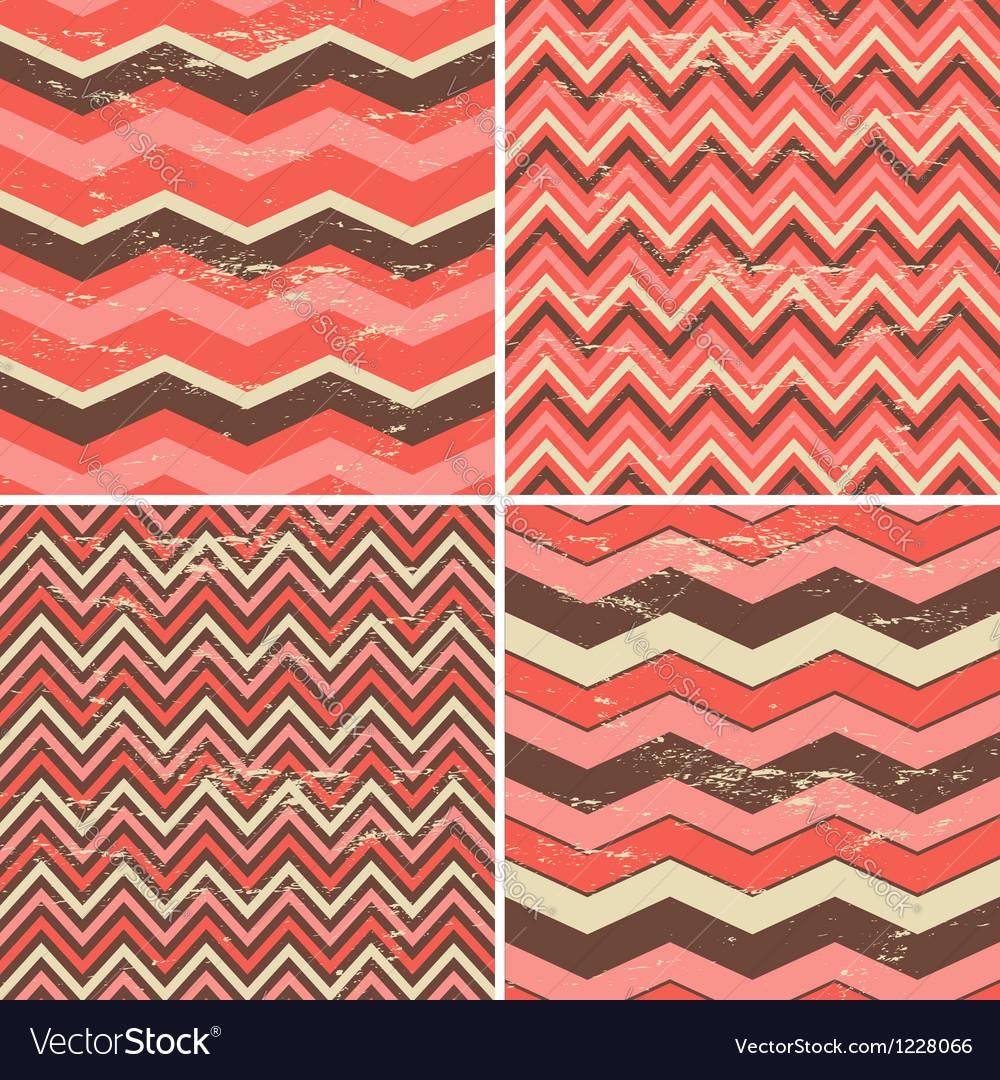 Chevron patterns set