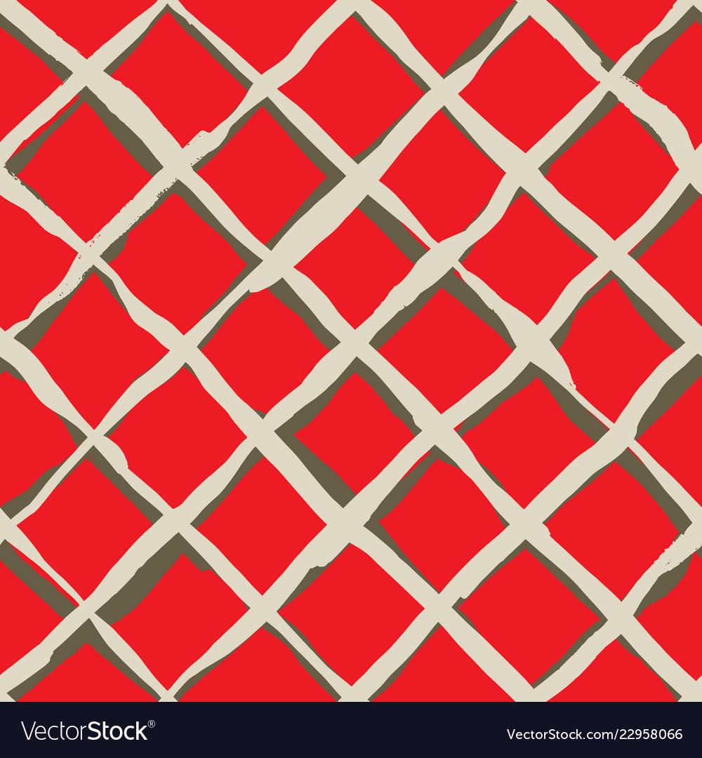 Diagonal cross brush strokes seamless pattern