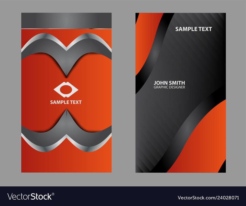 Abstract logo circular design elements set