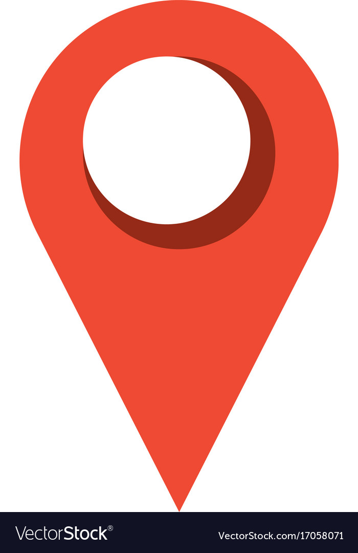 pointer map location symbol royalty free vector image
