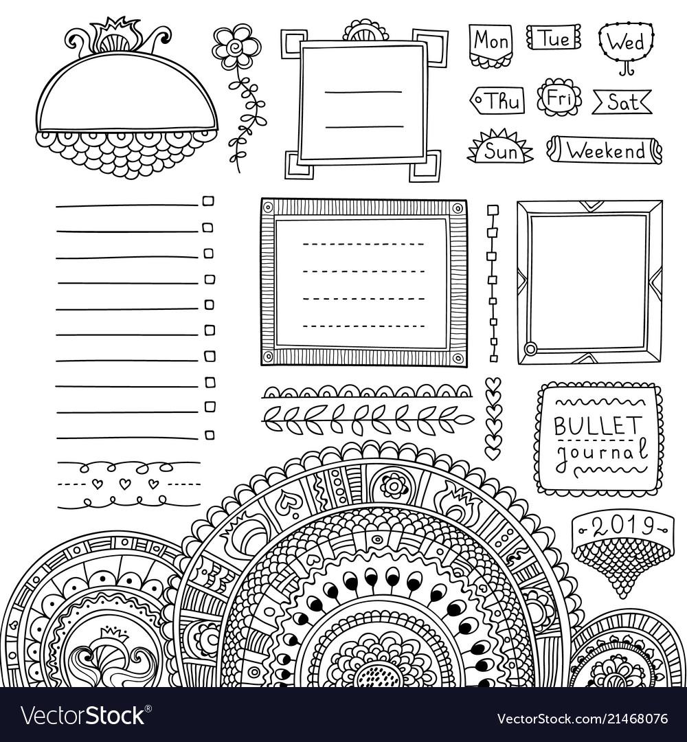 Download Doodle Art Bullet Journal