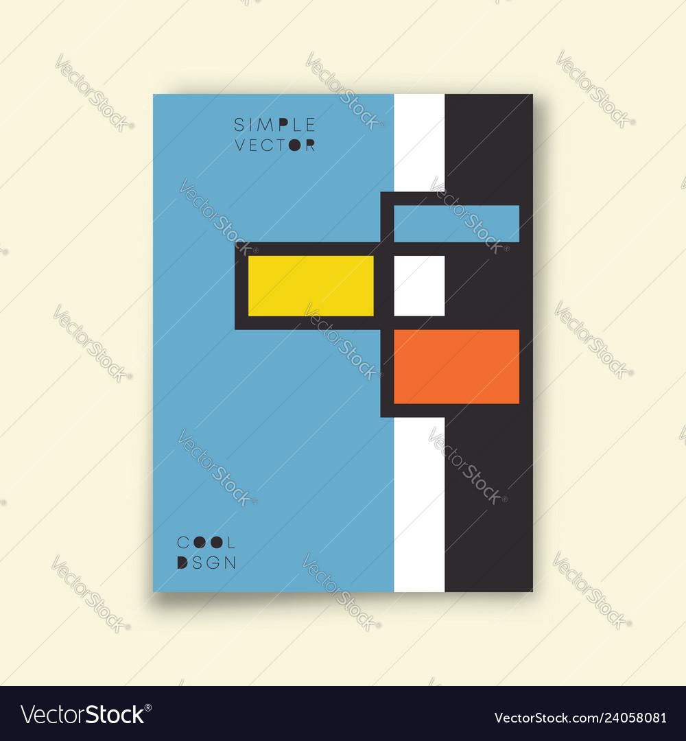 Cover minimal design modern style background