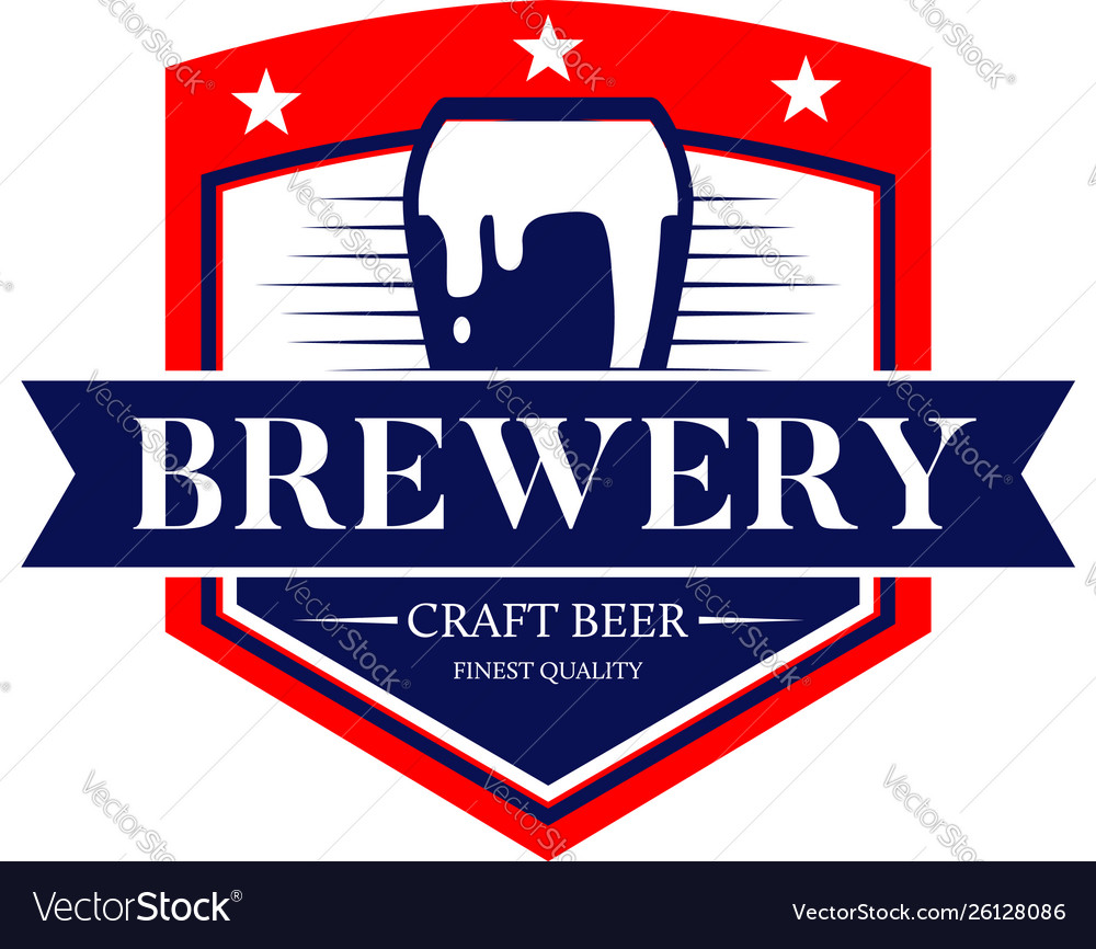Brewery craft beer logo symbol icon
