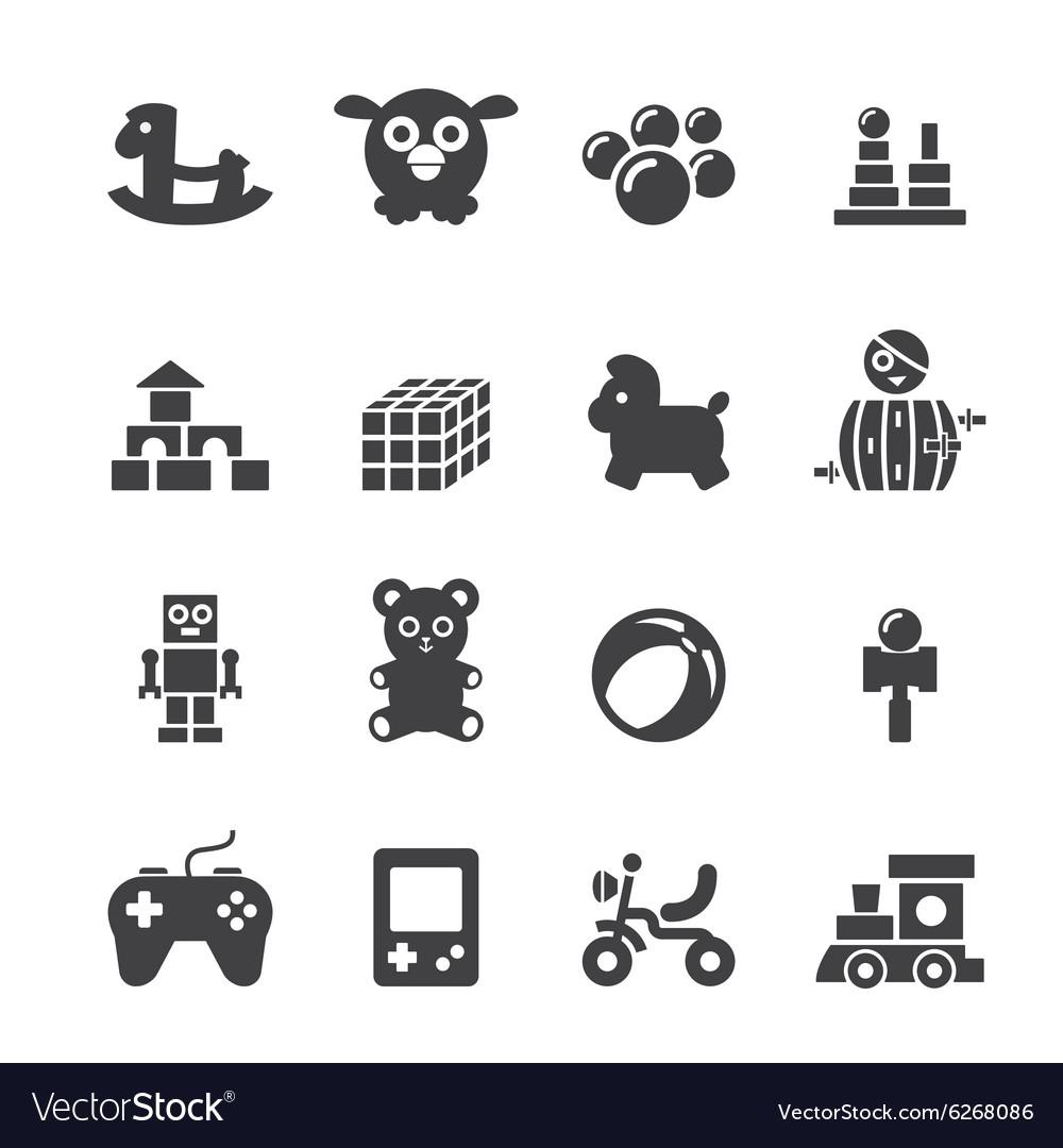 Toy icon set