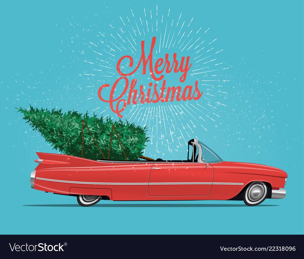 Cabriolet car vintage styled