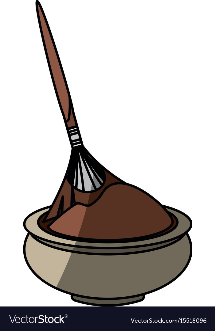 Chocolate teraphy spa vector image