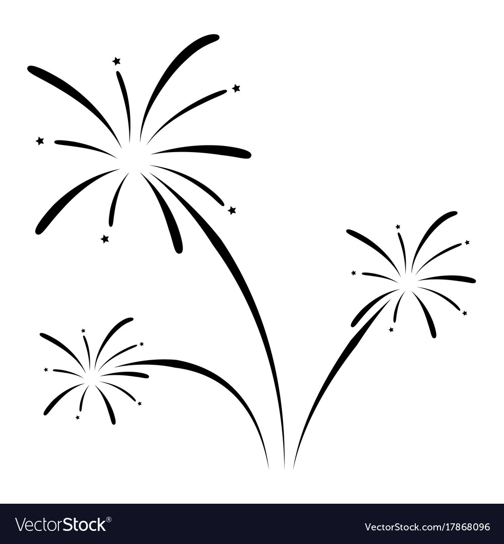 Fireworks icon Royalty Free Vector Image - VectorStockFireworks Icon