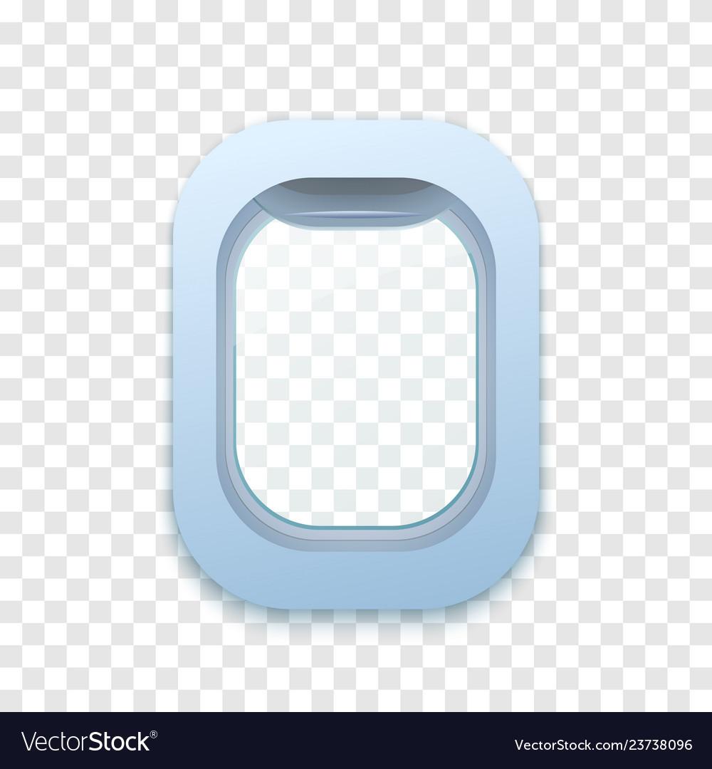 Flight window plane porthole