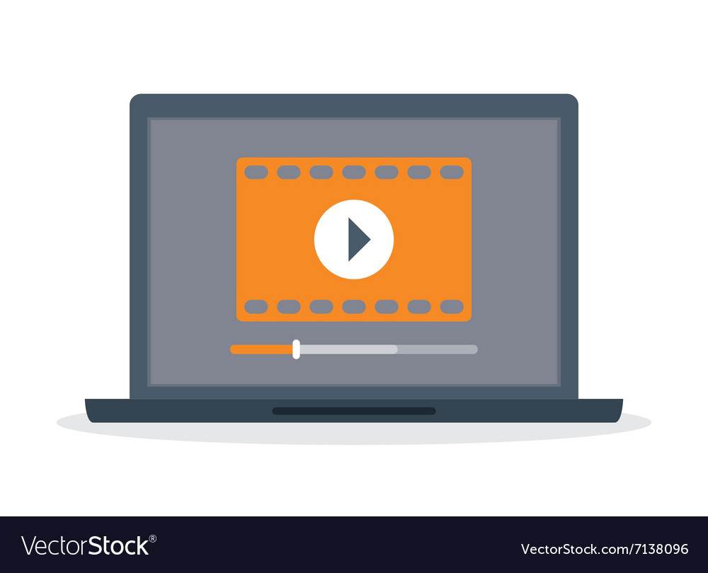 Movie and videofilm entertainment vector image