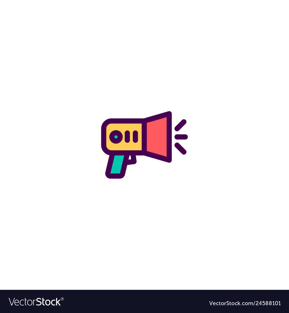 Announcement icon design e-commerce icon design