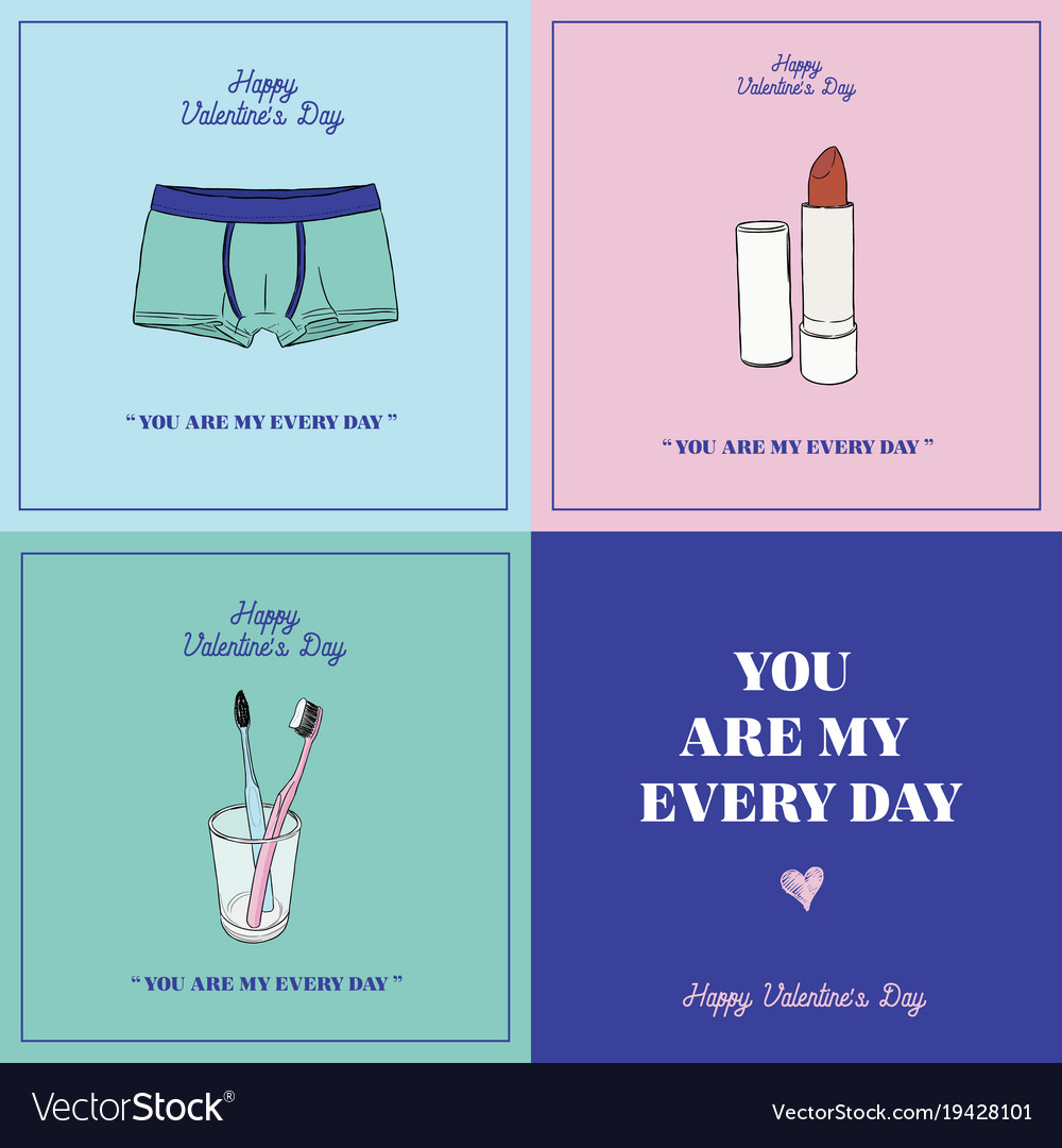 Happy valentines day gift card you are my every