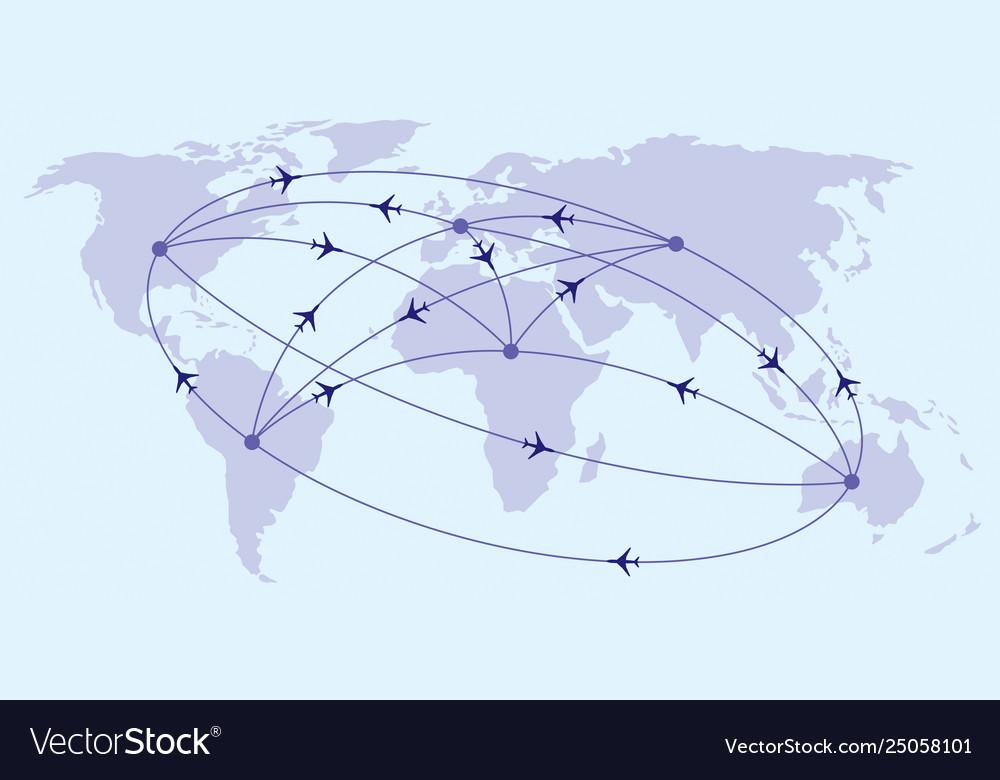 Intercontinental passenger flights