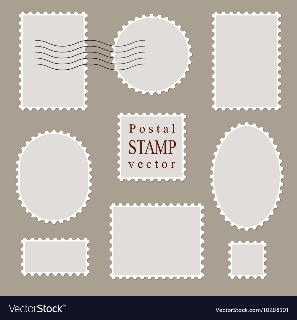 Postal stamps old style