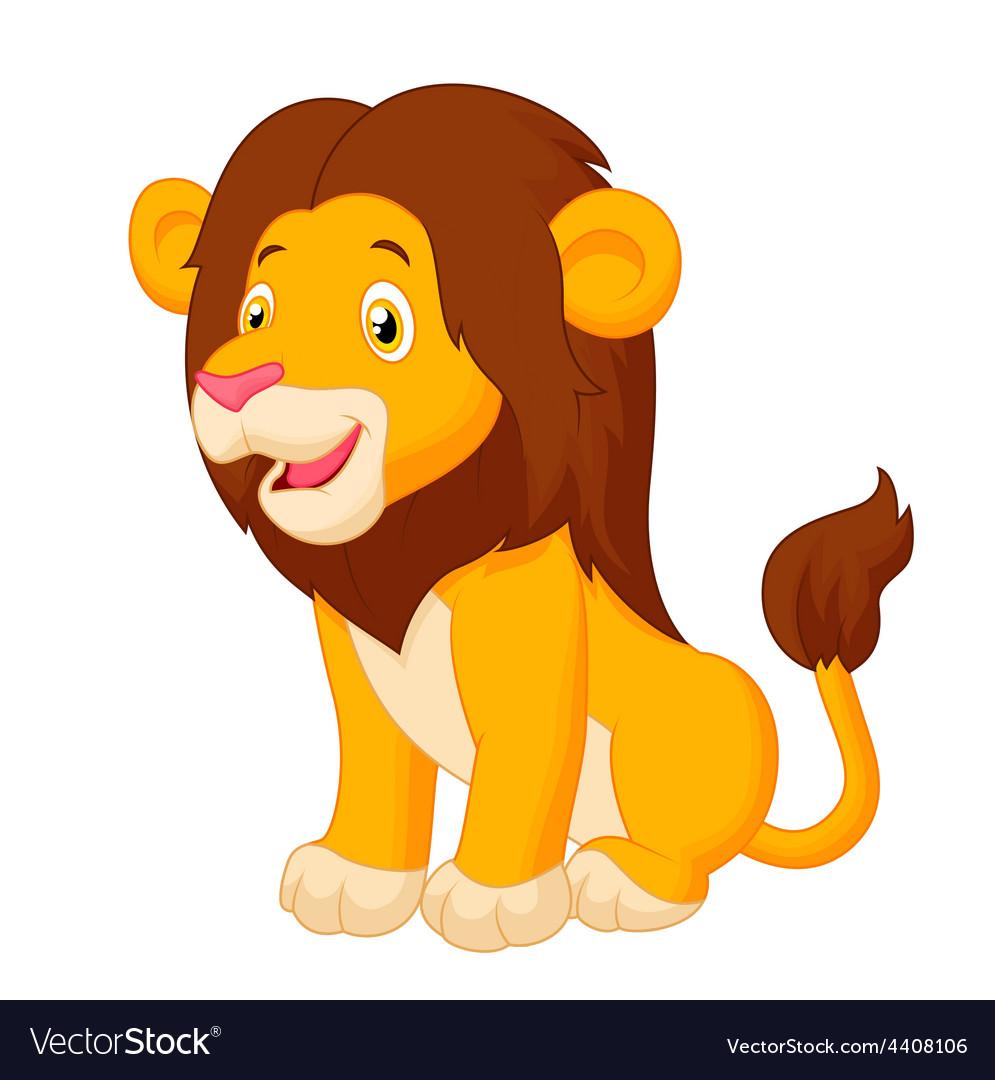 Картинка с изображением льва для детей, разговор