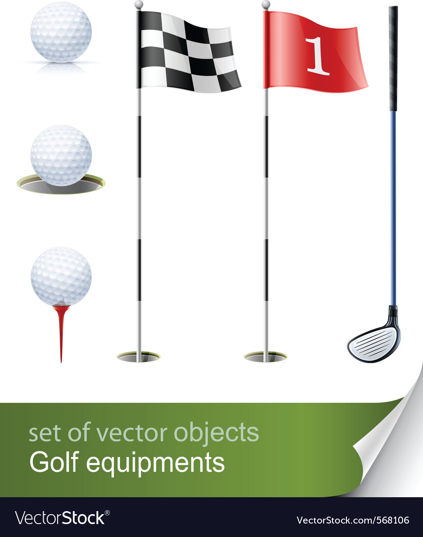 Set of golf equipment