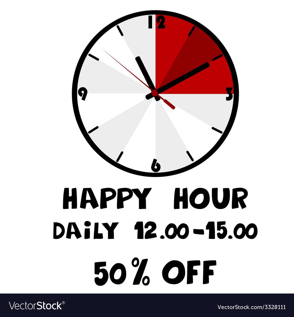 Happy hour banner