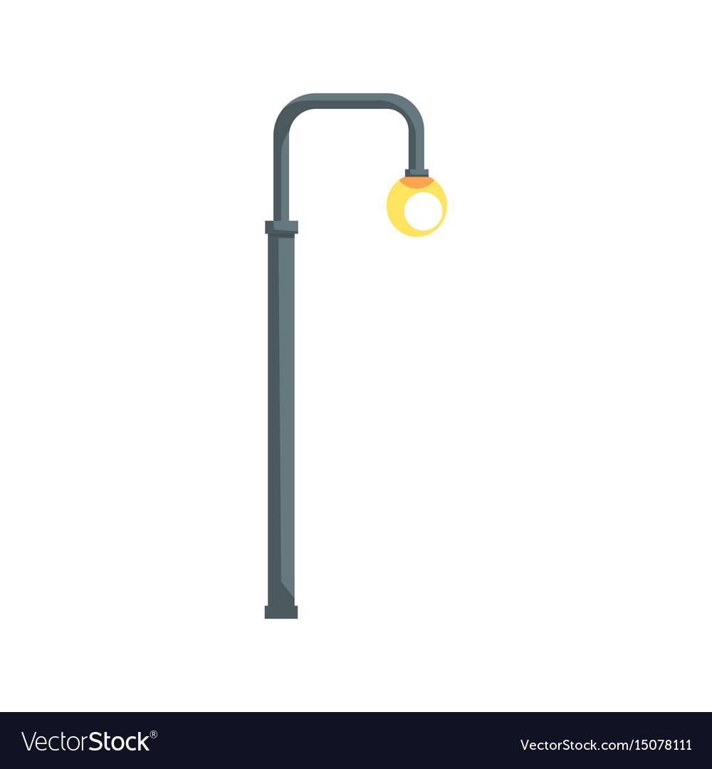 Vintage street lamppost Royalty Free Vector Image for Street Lamp Post Vector  300lyp