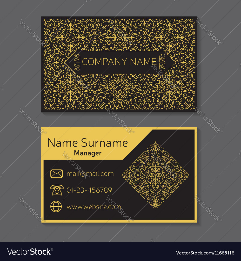 Business card editable template include