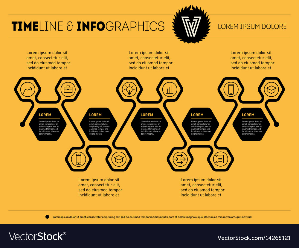 Business concept with options parts steps or vector image