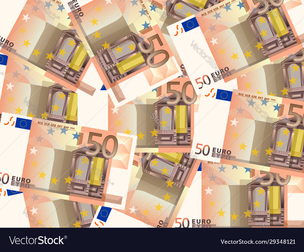 Fifty euros background