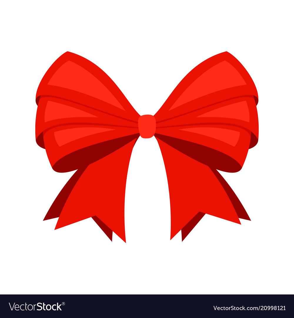 Red ribbon bowknot