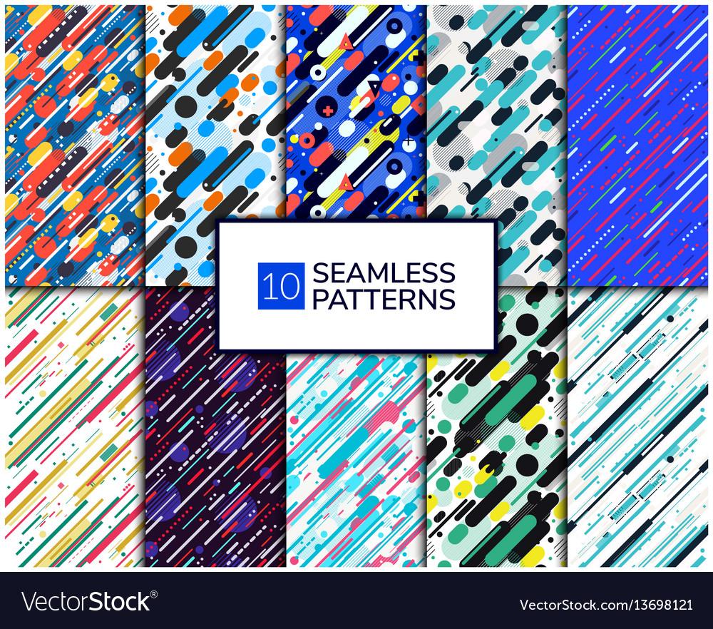 Set diagonal pattern
