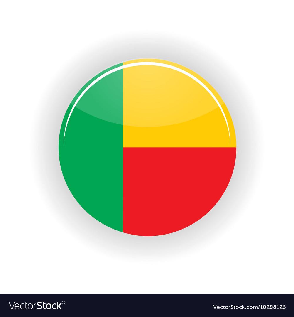 Benin icon circle