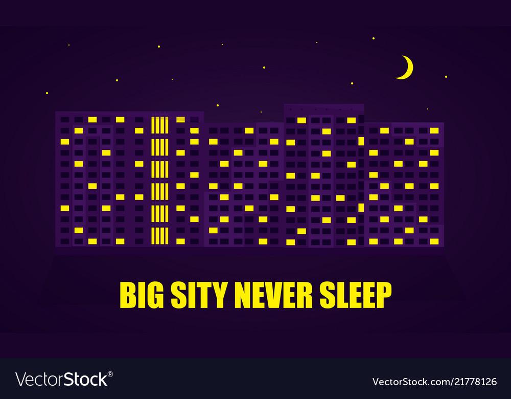 Night city flat