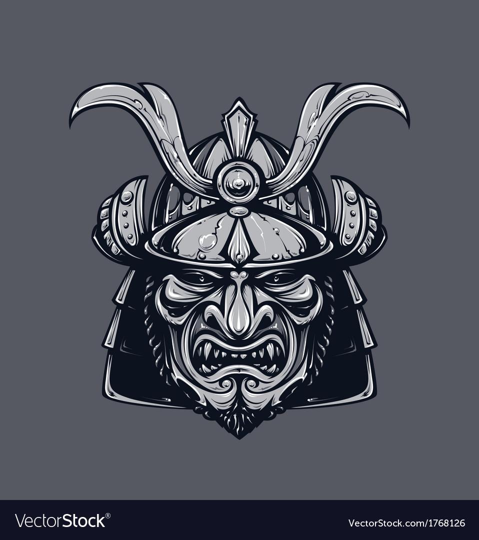 Samurai mask 3