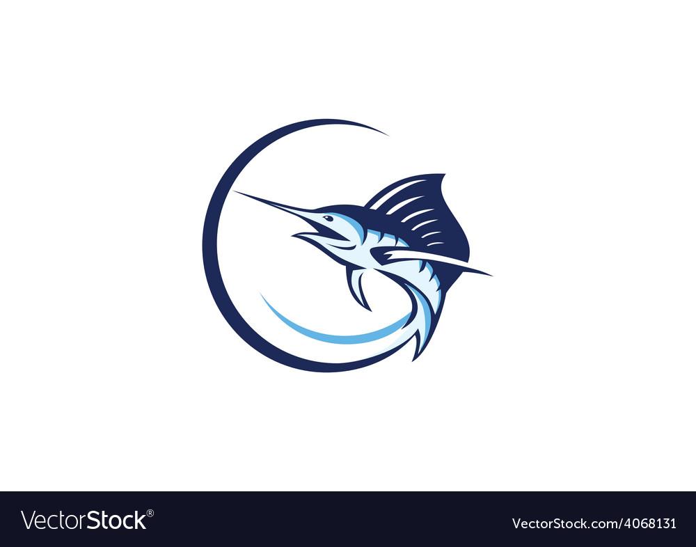 Fish tuna fishing logo