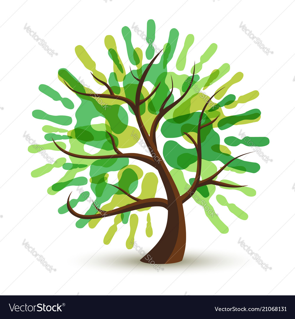 handprint tree template www