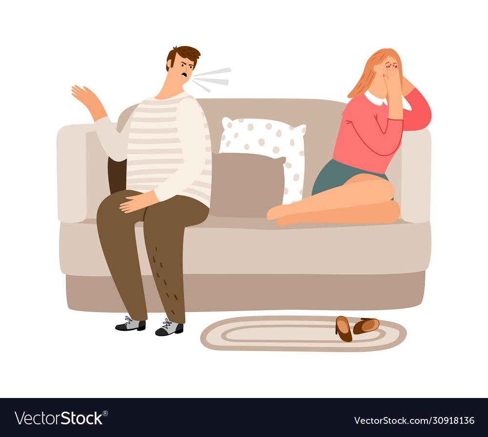 Family quarrel psychological abuse