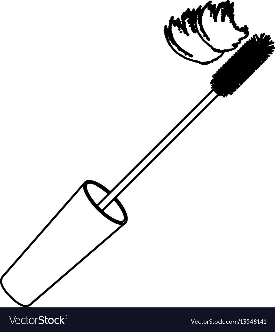 Contour lid eyelash mascara icon