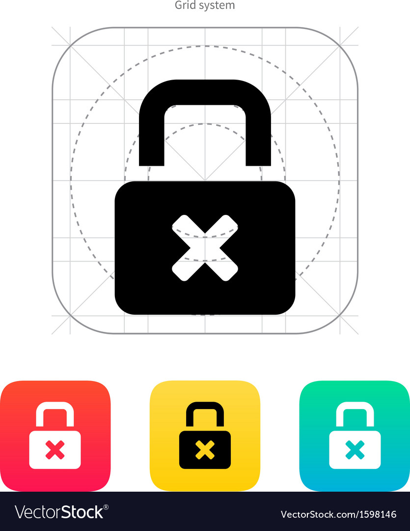 Lock is close icon