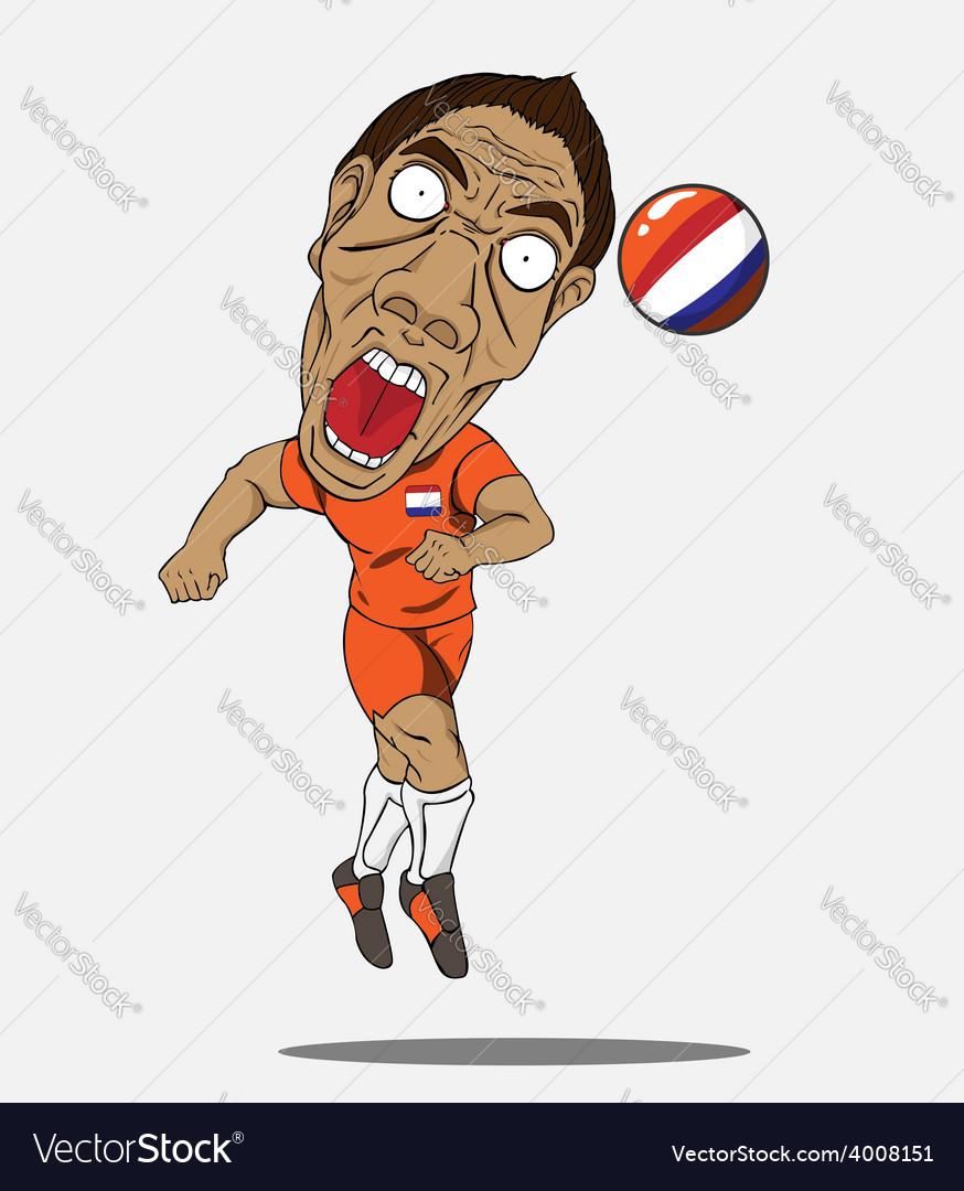 Soccer player Netherland