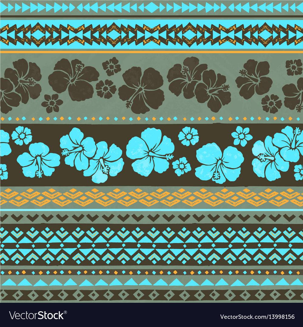 Seamless surf pattern