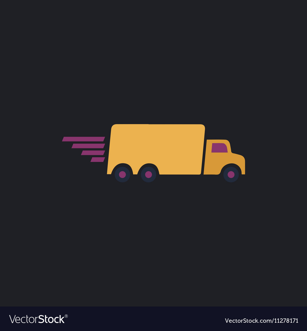 Fast Delivery computer symbol