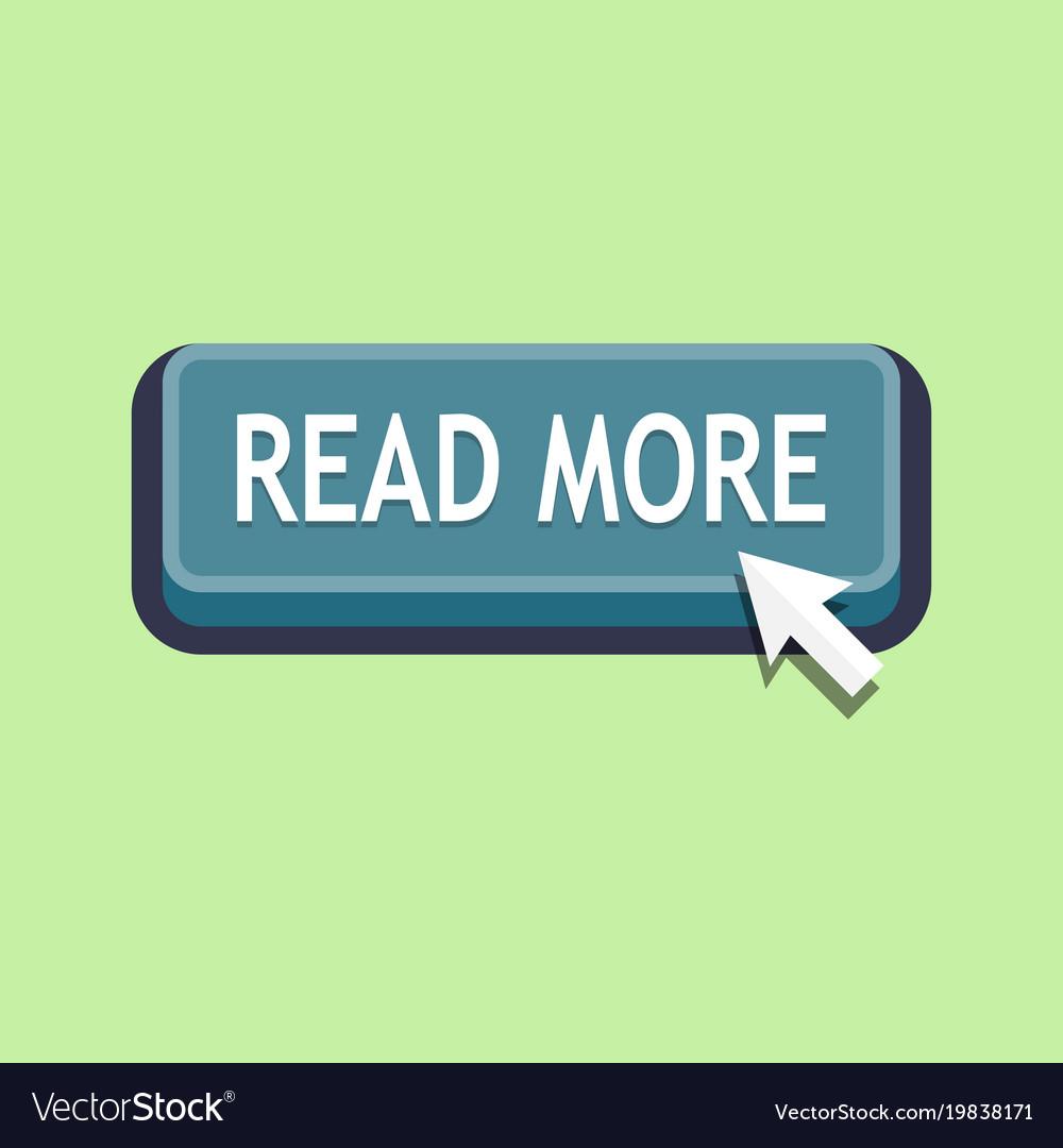 Read more button website element