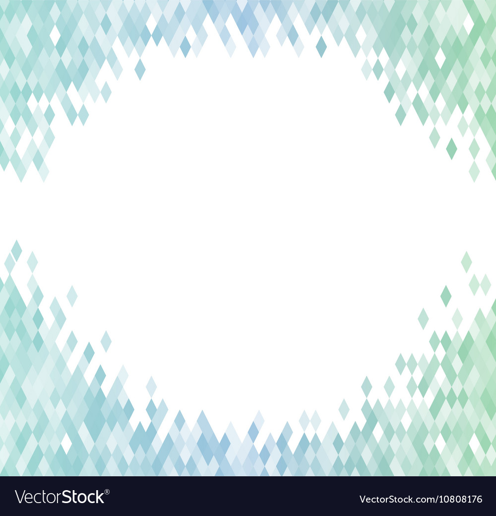 Abstract background identical diamonds with