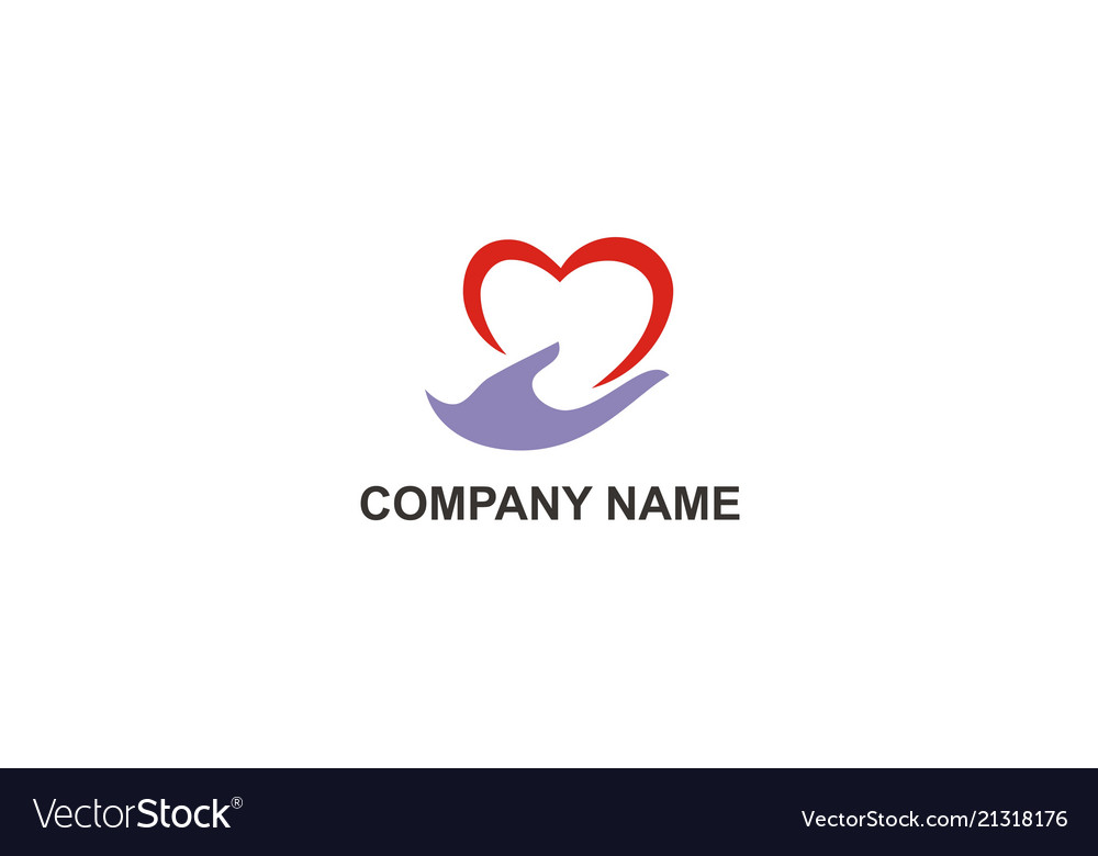 Love hand care company logo