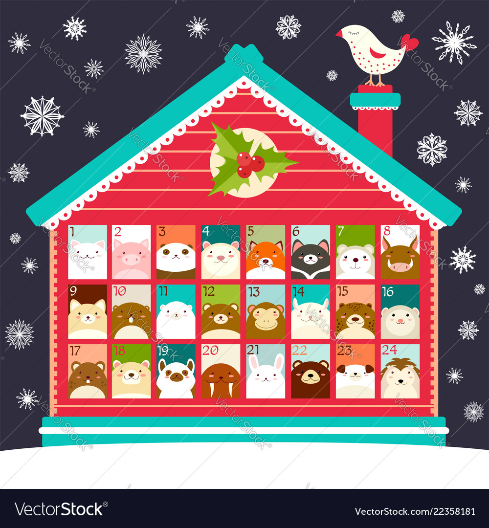 Christmas Countdown Calendar.Christmas Advent Calendar