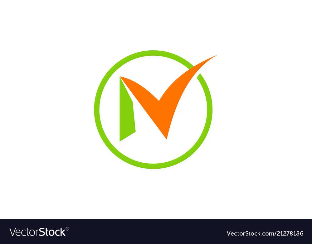 Letter n business logo