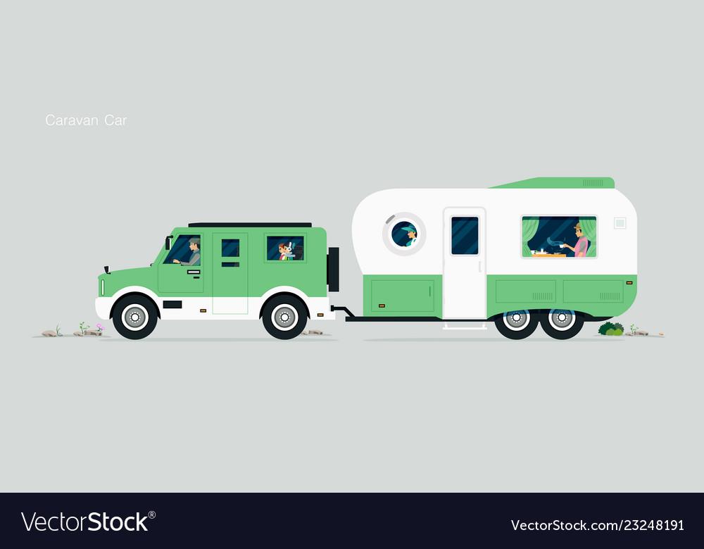 Caravan car