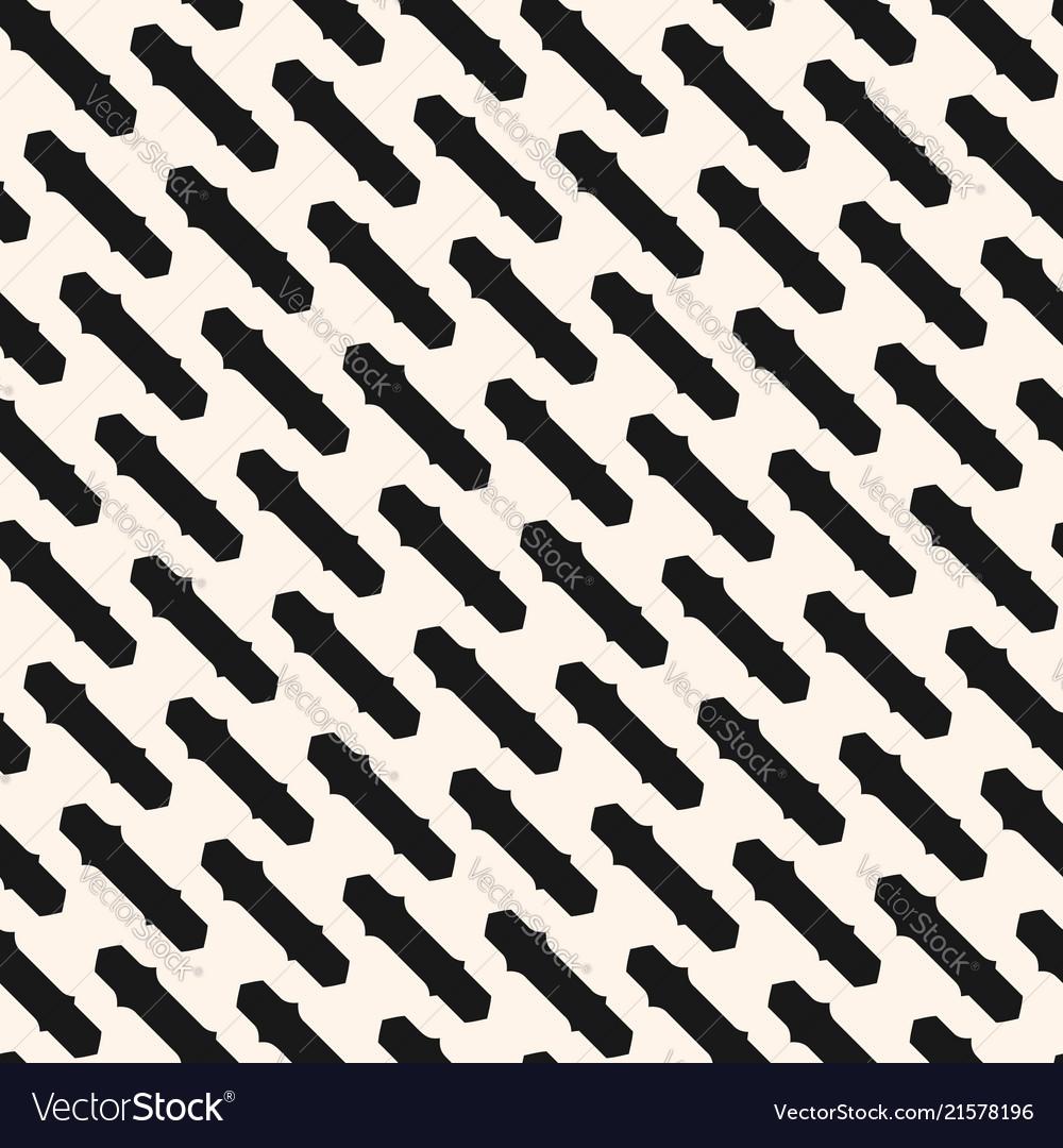 Diagonal geometric seamless abstract pattern