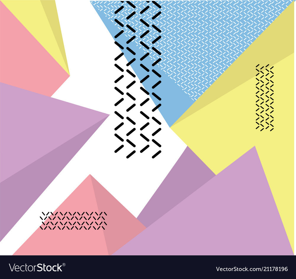 Hipster modern geometric abstract background