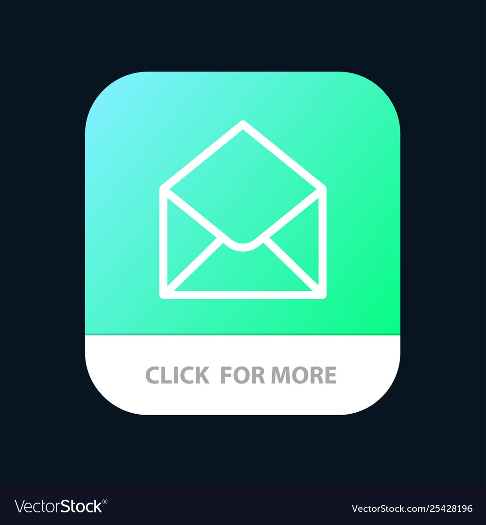 Sms email mail message mobile app button android