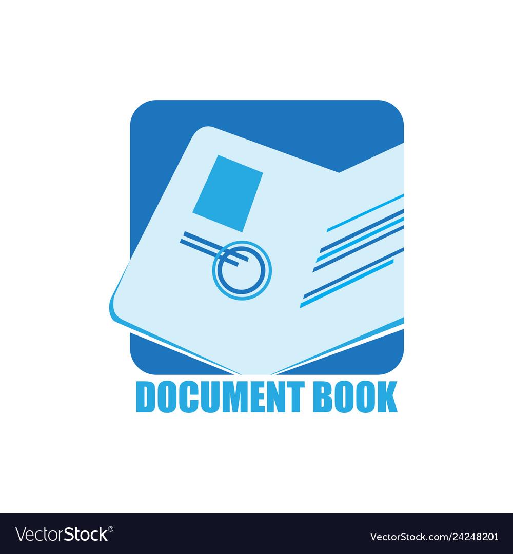 Document book logo