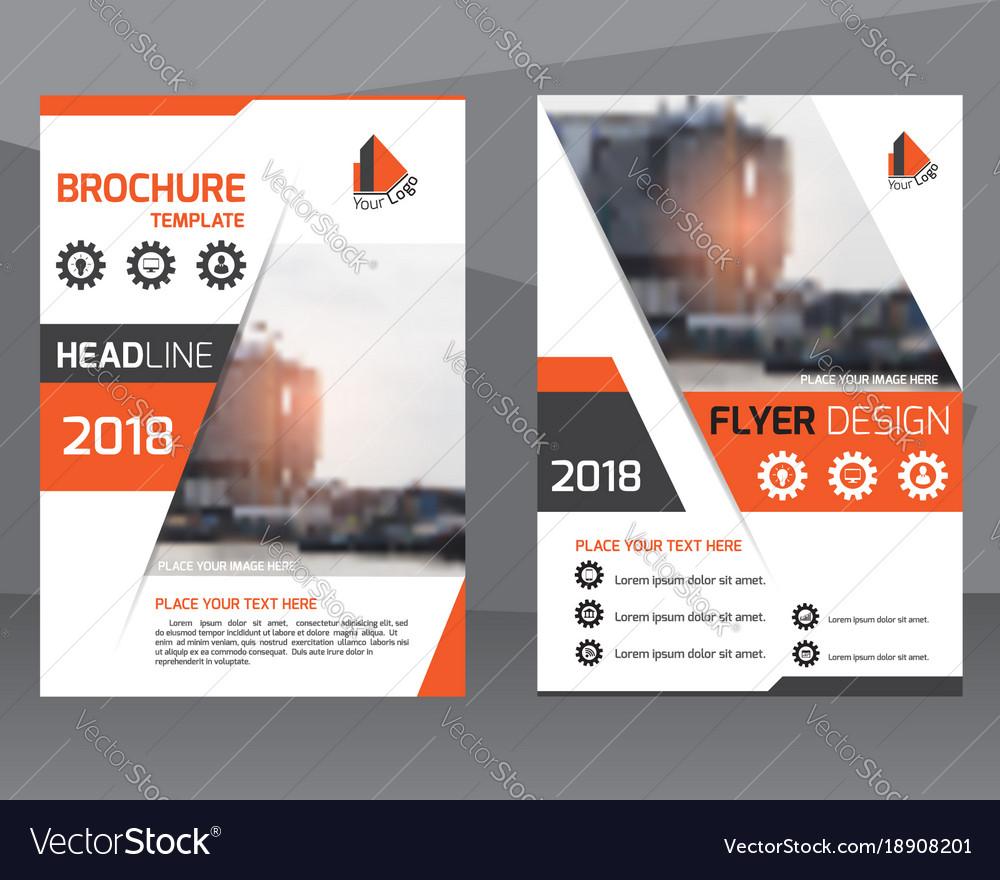 Poster flyer pamphlet brochure cover design