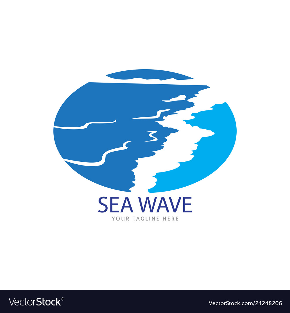 Beautiful wave logo
