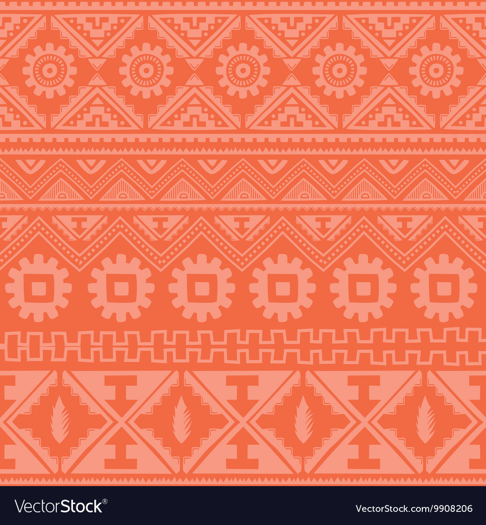 Bright pink native american ethnic pattern